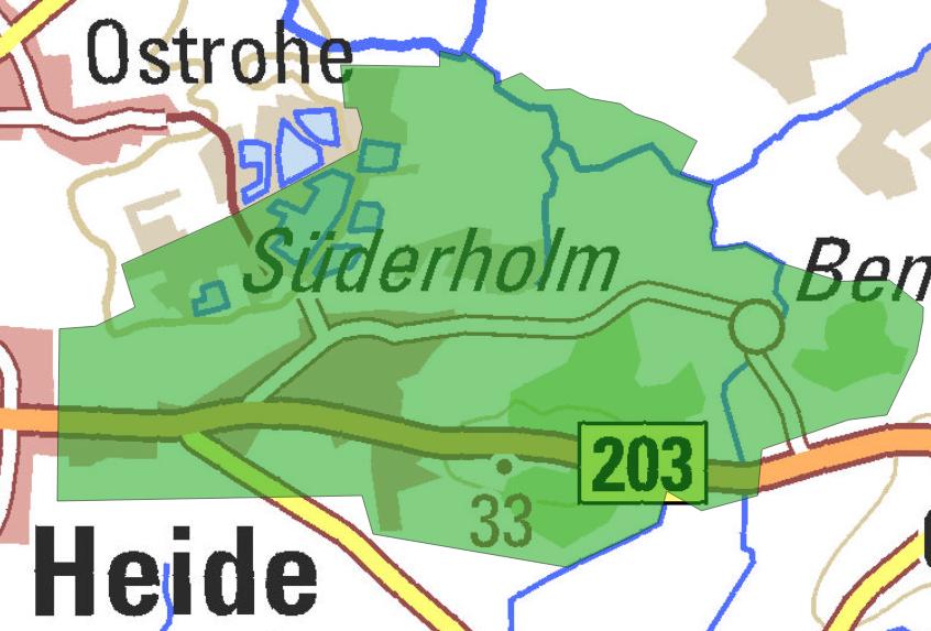 Ausbaugebiet 12 Süderholm